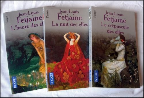 Jean-Louis  FETJAINE, La trilogie des elfes, Cycle arthurien, merlin, roi arthur, excalibur, fantasy, légendes médiévales