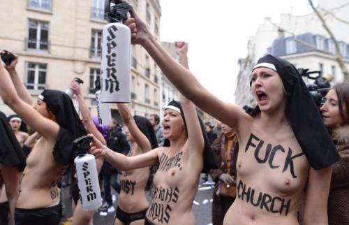 Femen, monde en perdition