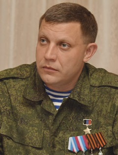 Alexander Zakharchenko, Donetsk, Donbass, Novorossia