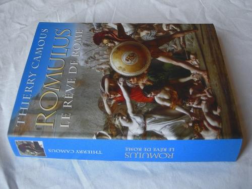 thierry camous,romulus,la fondation de rome,romains,étrusques,lupercal,lupercales,sabines