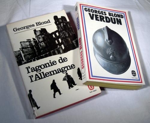 georges blond,verdun,première guerre mondiale,pétain,l'agonie de l'allemagne,allemagne,troisième reich,hitler,seconde guerre mondiale,livres,histoire,histoire de france
